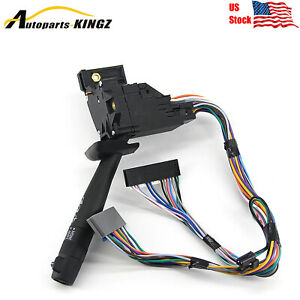 For Chevy Tahoe Suburban Blazer Gmc Multi Function Combination Turn Wiper Switch
