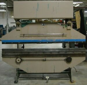 Di acro Hydra power 16 96 Press Brake With Front Operated Mechanical Back Gauge