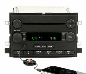 Ford F 150 Pickup 2005 2006 Radio Am Fm Cd Player With Aux Input 5l3t 18c869 ac