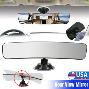 Universal Car Truck Mirror Interior Rear View Windshield Window Mirror Suction