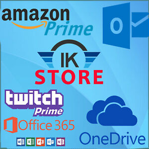 Edu Email Student 6mo Amazon Prime 1tb One Drive office 365 instant Delivery