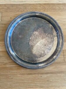 International Silver Company Vintage Tray 12 Inch Diameter Free Shipping
