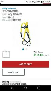 Miller Fall Protection Full Body Harness