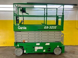 2008 Genie Gs 3232 32 Ft Electric Scissor Lift Aerial Platform