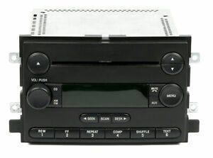 2006 Ford Mustang Freestyle 500 Oem Original Amfm Cd Player Radio 6f9t 18c869 Bb