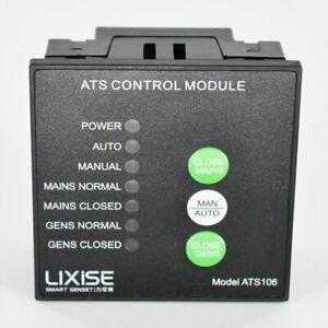 Ats106 Diesel Generator Ats Controller Auto Transfer Switch Panel Usb Led Contro