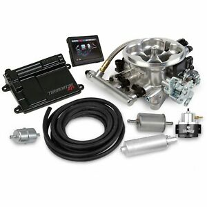 Holley 550 405k Terminator Efi 4bbl Throttle Body Fuel Injection System In