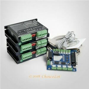 Cnc Kit 3 Axis Controller Board Engmate Stepper Motor Driver Ema2 050d42