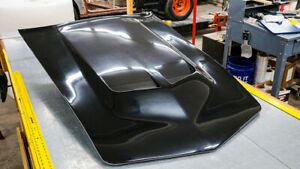 C3 Corvette Custom Carbon Fiber Ls Big Block Long Hood 1968 1982