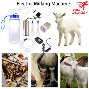 2l Portable Vacuum Impulse Pump Electric Milking Machine For Cow Goat Milker