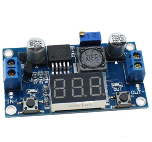 Dc dc Lm2596 Power Supply Buck Converter Step down Module led Display Voltmeter