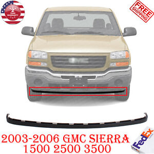 Lower Valance Extension Textured For 2003 2006 Gmc Sierra 1500 2500 3500