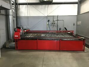 Dynatorch Klr8 7x14 Plasma Table And Hypertherm Powermax 105 Plasma Cutter