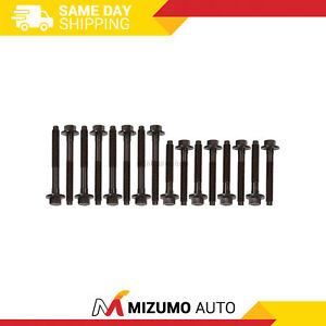 Head Bolts Fit 89 95 Ford Mustang Lincoln Mercury Supercharged 3 8