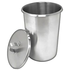 Ingredient Beaker And Cover Made From Astm Standard Stainless Steel 1 1 4 Qt