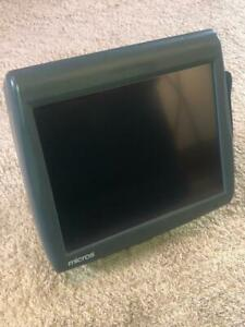 Micros Workstation 5 Touchscreen Pos Unit With Stand Model 400814 101