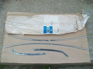 1963 1964 Chrysler Newport 300 New Yorker Nos Mopar 4 Door Edge Protector Set