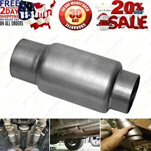 Dynomax 24250 Race Mini Bullet Muffler In Out 3 Spec 9 2 X 4 X 4 Inches