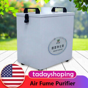 Air Fume Purifier Smoke Pure Extractor For Cnc Laser Engraving Machine 80w 110v