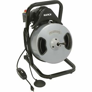 Klutch 60ft Electric Drain Cleaner