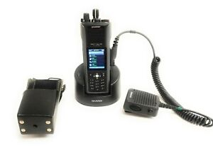 Harris Unity Xg 100p Multi band Portable Radio Full Spectrum W Holster Charger
