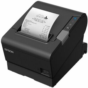 New Epson Tm t88vi Thermal Receipt Printer Serial Ethernet Usb C31ce94091 New