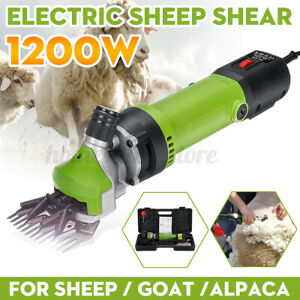 1200w 110v Electric Sheep Goat Animal Clipper Groomer Shears Shearing Machine