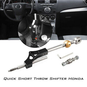 Short Shifter Circuit Adjustable For Acura Civic B D Series Transmission Black