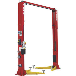 Rotary Lift Spo12n7t5rd 2 post Truck Lift W 3 stage Arms 140in 12k Lb Capacity