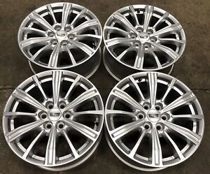 Cadillac Xt5 Srx 18 Painted Silver Factory Oem Wheels Rims 10 21 4799 2327