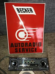 Serviced Mercedes Becker Mexico Olympia Stereo Cassette W109 W108 W111 R107 W116