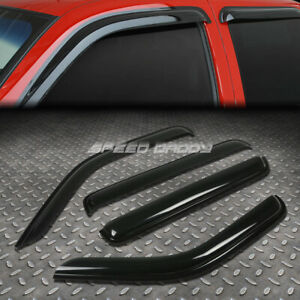 For 07 11 Dodge Nitro Suv Smoke Tint Window Visor Wind Deflector Vent Rain Guard