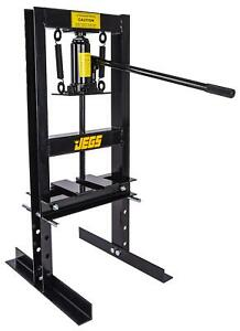 Jegs 81518 Hydraulic Shop Press 6 Ton Bench Top Mount