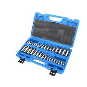 Master Allen Wrench Bit Kit Hex Key For Ratchet Socket Tool Sae Metric Set