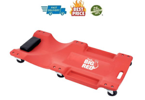 Big Red Trp6240 Torin Blow Molded Plastic Rolling Garage shop Creeper 40 Newbig