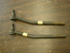 Nos Oem Ford 1952 1953 Outer Tie Rod Ends Rods Pair Customline Custom Mainline