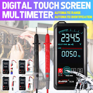 Digital Multimeter Touch Dc ac Voltmeter Professional Analog Tester True Rms Usa