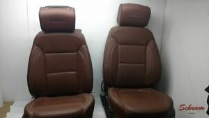 Traverse Front Driver And Passenger Tan Leather Seats Includes Dvd 2018 1969026