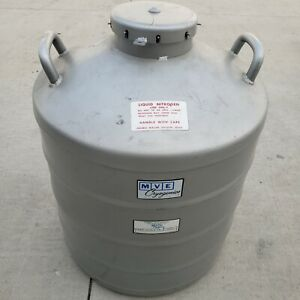 Mve Al 39 Cryogenic Liquid Nitrogen Storage Tank With Canisters 41 Liters