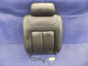 Sept 1996 1999 Cadillac Deville Part Rh Bucket Seat Back Black Leather