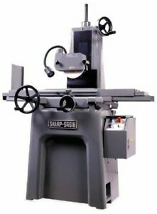 6 W 18 L Sharp Sg 618 Surface Grinder Hand Feed Precision