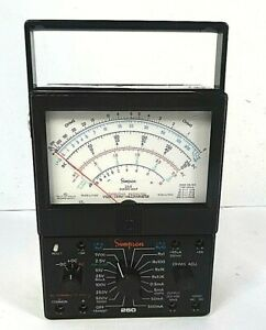 Simpson 260 Series 6xlp Overload Protected Volt Ohm Multimeter free Shipping