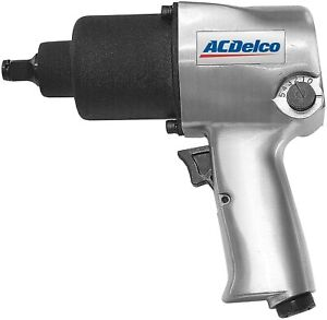 Acdelco Ani405a Heavy Duty Twin Hammer 500 Ft Lbs Pneumatic Impact Wrench New