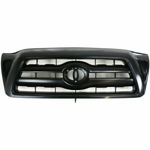New Grille Primed Shell And Insert Fits Toyota Tacoma 2005 2010 To1200279