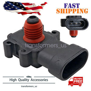 3 Bar Map Sensor Fit For Gm Camaro Firebird Transam Silverado Ls1 Ls3 Ls7 Ls9