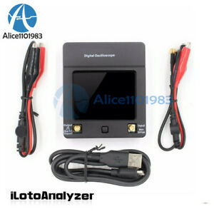 Dso112a 2mhz Touch Screen 2 4inch Tft Digital Mini Handheld Oscilloscope