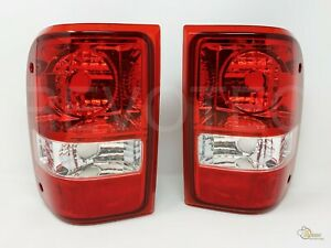 2001 2011 Ford Ranger Red Oe Style Replacement Tail Lights Rh Lh