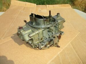 1968 Ford Mustang Shelby Gt 350 Holley Carburetor 4118 s Carb