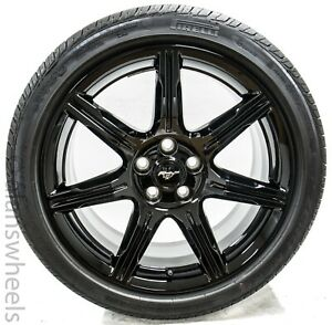 New Takeoffs Ford Mustang 19 Factory Oem Gloss Black Wheels Rims Tires 10159