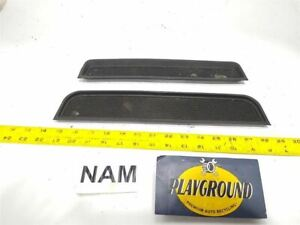 99 00 01 02 03 04 Land Rover Discovery Front Center Console Rubber Insert Mats